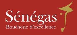 Senegas, Boucherie d'excellence Logo