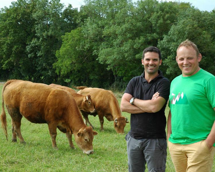 la boucherie Sénégas met un point d'honneur à sélectionner des éleveurs de la région: Hérault, Tarn et Aveyron.